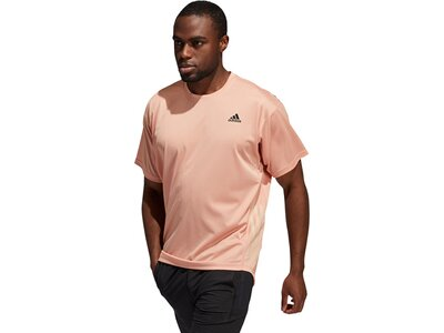 adidas Herren Yoga T-Shirt Pink