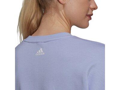 adidas Damen U4U Soft Knit Sweatshirt Silber