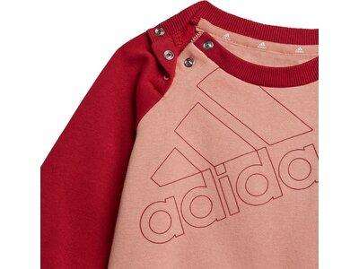 adidas KinderEssentials Logo Trainingsanzug – Genderneutral Pink