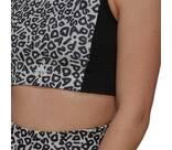 Vorschau: adidas Damen FARM Rio AEROREADY 3-Stripes Print Sports Crop-Top