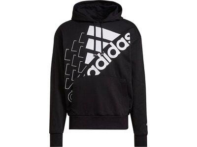 adidas Essentials Logo Hoodie – Genderneutral Silber