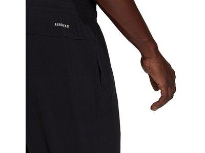 adidas Damen AEROREADY Designed to Move Print Stretchy 7/8-Hose Schwarz