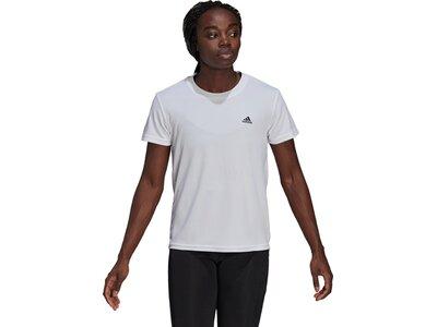 adidas Damen AEROREADY Designed 2 Move Sport T-Shirt Grau