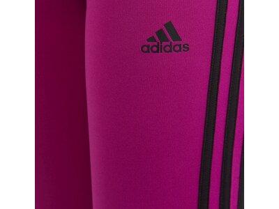 adidas Kinder Designed 2 Move 3-Streifen Tight Rot