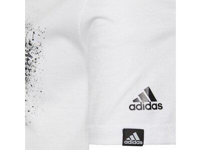 adidas Kinder Graphic T-Shirt Weiß