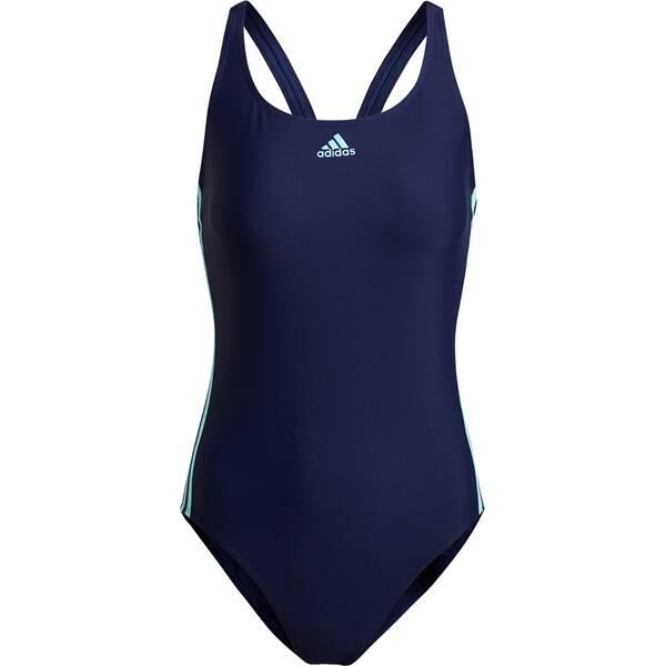 Bademode - ADIDAS Damen Badeanzug SH3.RO 3S SUIT › Blau  - Onlineshop Intersport