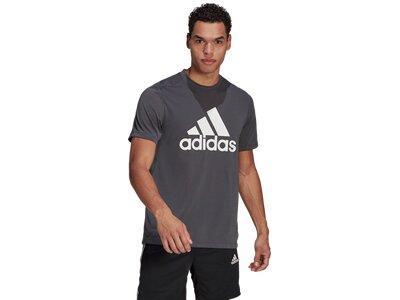 ADIDAS Herren Shirt FR LG T Grau