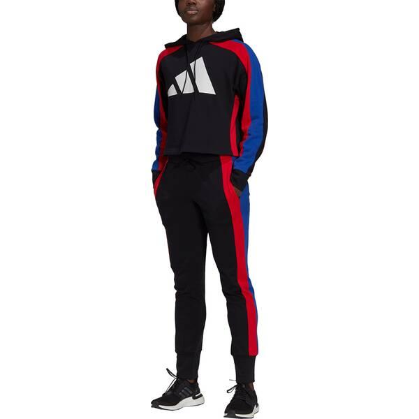 adidas Damen Sportswear Badge of Sport Logo Trainingsanzug