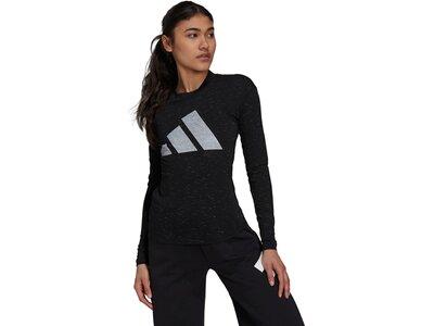 adidas Damen Sportswear Future Icons Winners 2.0 T-Shirt Schwarz