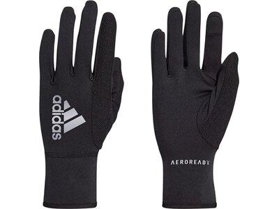 adidas AEROREADY Warm Running Handschuhe Schwarz