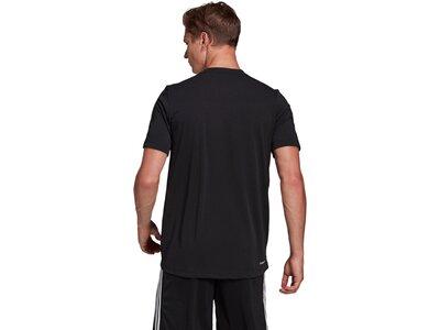 adidas Herren AEROREADY Designed 2 Move Feelready Sport T-Shirt Schwarz