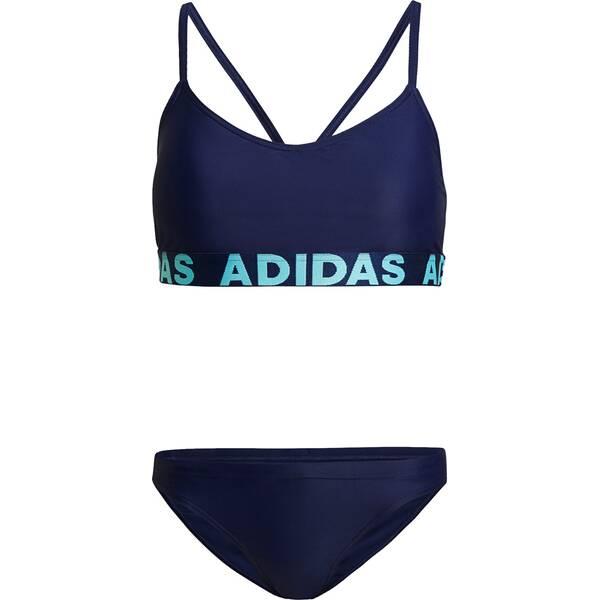 Bademode - adidas Damen BEACH BIKINI › Blau  - Onlineshop Intersport