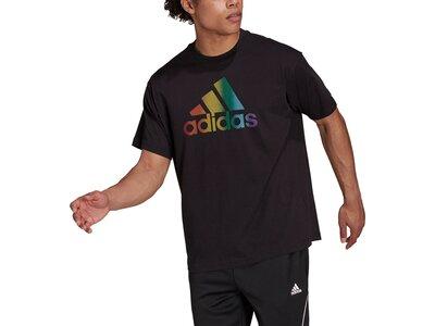 adidas Pride Logo Graphic T-Shirt – Genderneutral Schwarz
