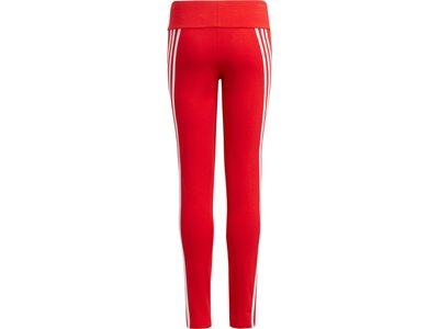 adidas Kinder 3-Streifen Cotton Tight Rot
