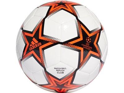 adidas UCL Pyrostorm Club Ball Schwarz