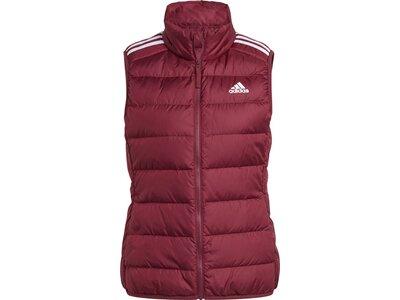adidas Damen Essentials Daunenweste Rot