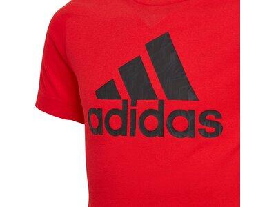 adidas Kinder AEROREADY Primegreen Prime T-Shirt Rot