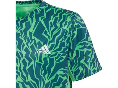 adidas Kinder AEROREADY Primegreen Graphic Camo T-Shirt Silber