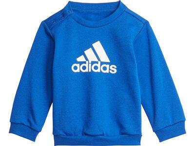 adidas Kinder Badge of Sport Jogginganzug Blau