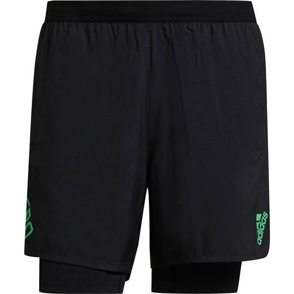 adidas Herren Adizero Two-in-One Shorts