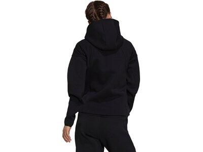 adidas Damen Sportswear Z.N.E. Hoodie Schwarz