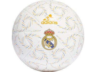 adidas Real Madrid Home Club Ball Weiß