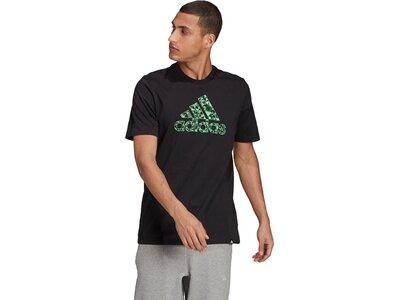 adidas Herren Graphic T-Shirt Schwarz