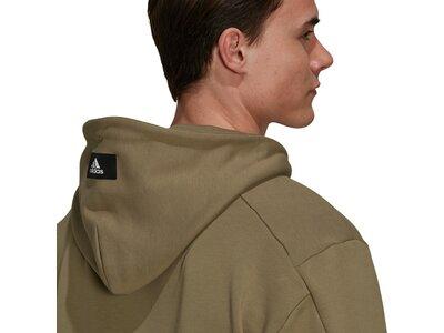 adidas Herren Sportswear Future Icons Logo Graphic Hoodie Braun