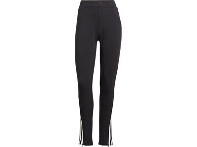adidas Damen Sportswear Future Icons 3-Streifen Skinny Hose Schwarz