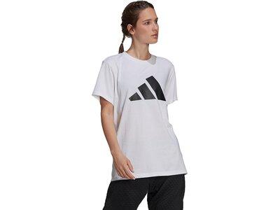 adidas Damen Sportswear Future Icons Logo Graphic T-Shirt Pink
