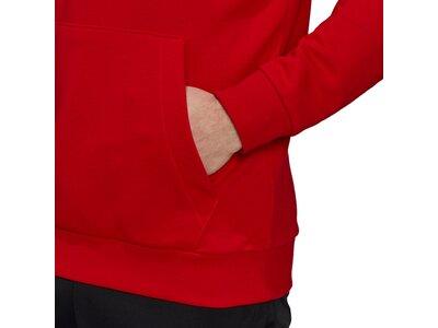 adidas Herren Essentials Big Logo Hoodie Rot