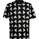 Vorschau: adidas Herren Essentials Loose Giant Logo T-Shirt – Genderneutral