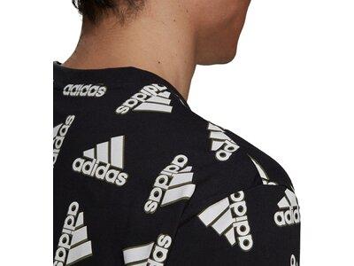 adidas Herren Essentials Loose Giant Logo T-Shirt – Genderneutral Grau