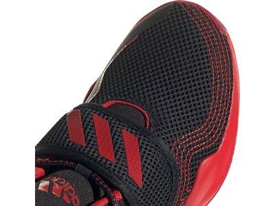 adidas Kinder Deep Threat Primeblue Basketballschuh Schwarz