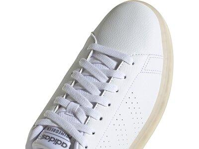 adidas Herren Advantage Eco Schuh Silber