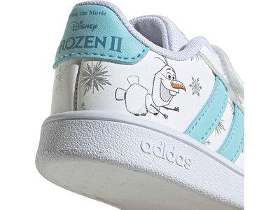 adidas Kinder Grand Court Schuh Grau