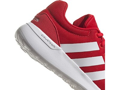 adidas Kinder Lite Racer CLN 2.0 Schuh Silber