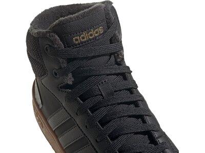 adidas Damen Hoops 2.0 Mid Schuh Silber