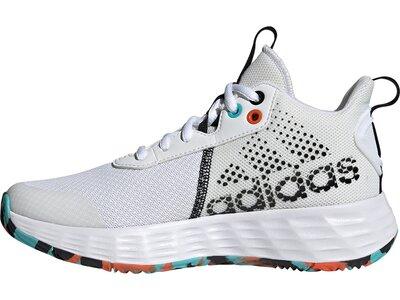 adidas Kinder Ownthegame 2.0 Basketballschuh Grau