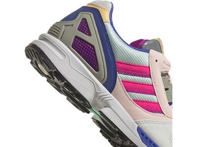 adidas Damen ZX 8000 Schuh Silber