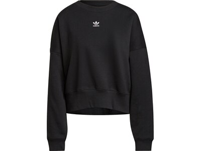 adidas Damen adicolor Essentials Fleece Sweatshirt Schwarz