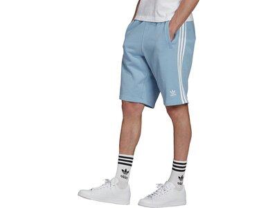 adidas Herren 3-Streifen Shorts Grau