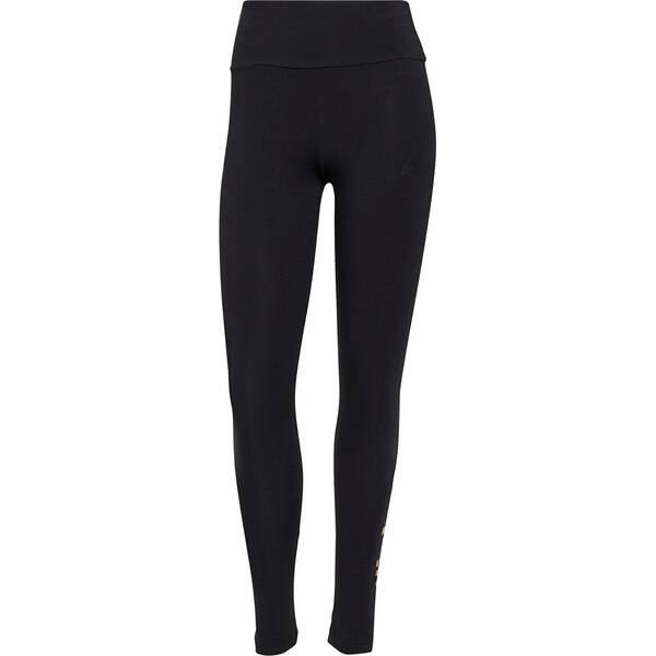 adidas Damen Essentials High-Waisted Logo Leggings