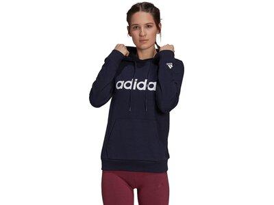 adidas Damen Essentials Logo Hoodie Schwarz