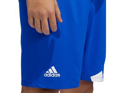 ADIDAS Herren Shorts Herren Shorts 4K 3 Bar Blau