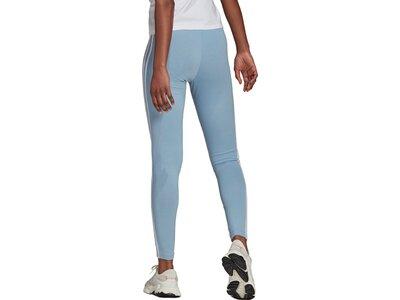 adidas Damen adicolor Classics 3-Streifen Leggings Grau