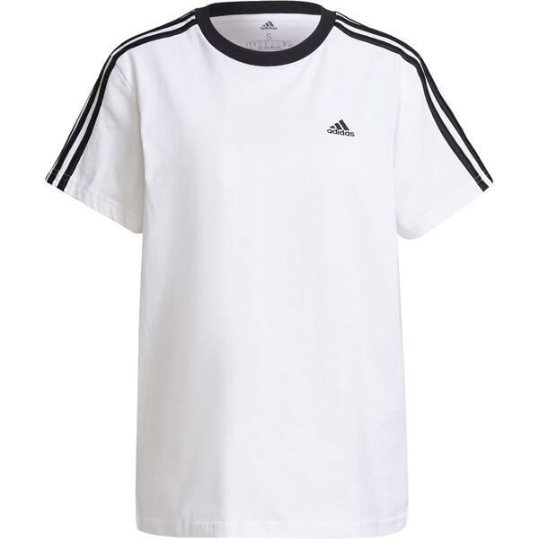 adidas Damen Essentials 3-Streifen T-Shirt