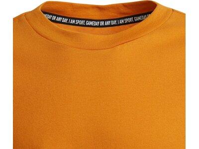 adidas Kinder Future Icons 3-Streifen T-Shirt Grau