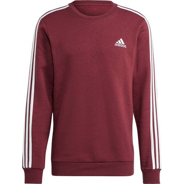 adidas Herren Essentials Fleece 3-Streifen Sweatshirt
