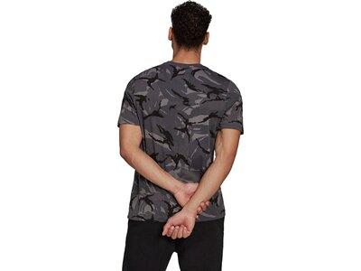 adidas Herren Essentials Camouflage T-Shirt Grau